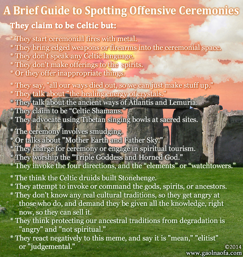 Spotting Offensive Ceremonies Image Version